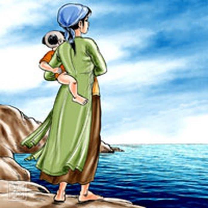 Biển trông chồng-Thơ Bùi Xuân