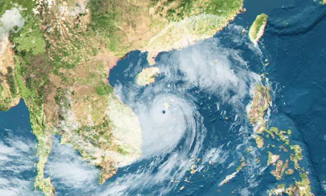 Nghĩ sau bão Xangsane - Thơ Bùi Xuân
