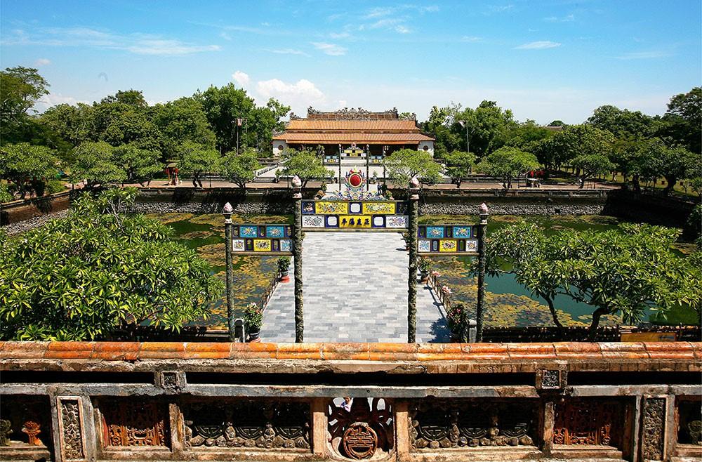 Cố đô Huế - điện Thái Hòa