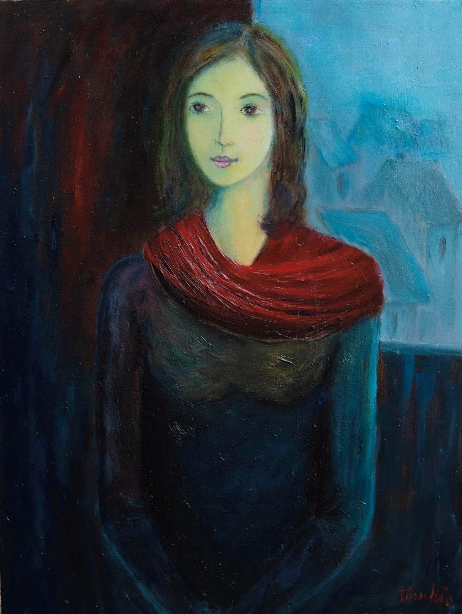 Tác phẩm Thiếu nữ / Young girl