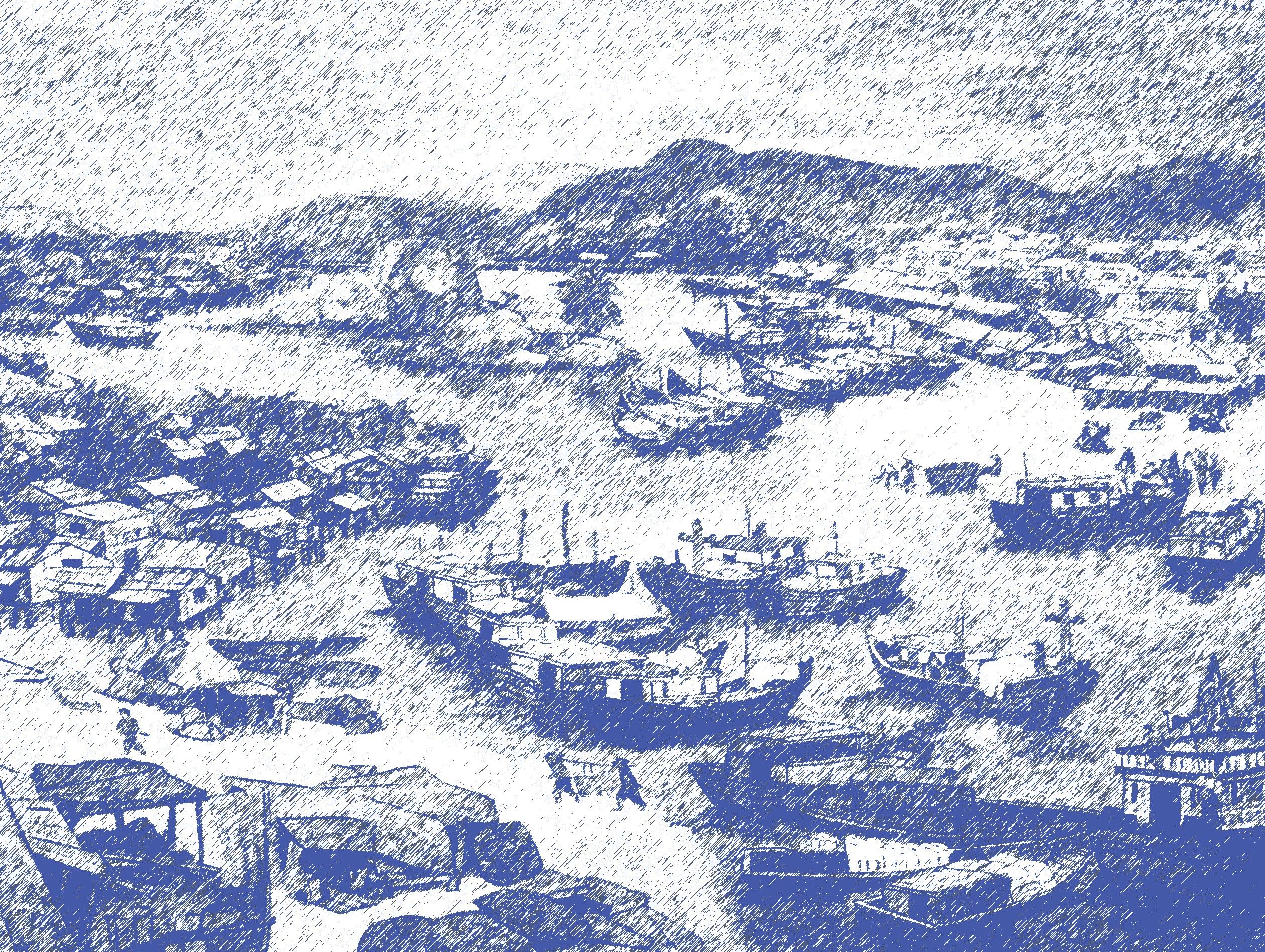 Tác phẩm Mưa về trên xóm Bóng / Rain in Bong hamlet
