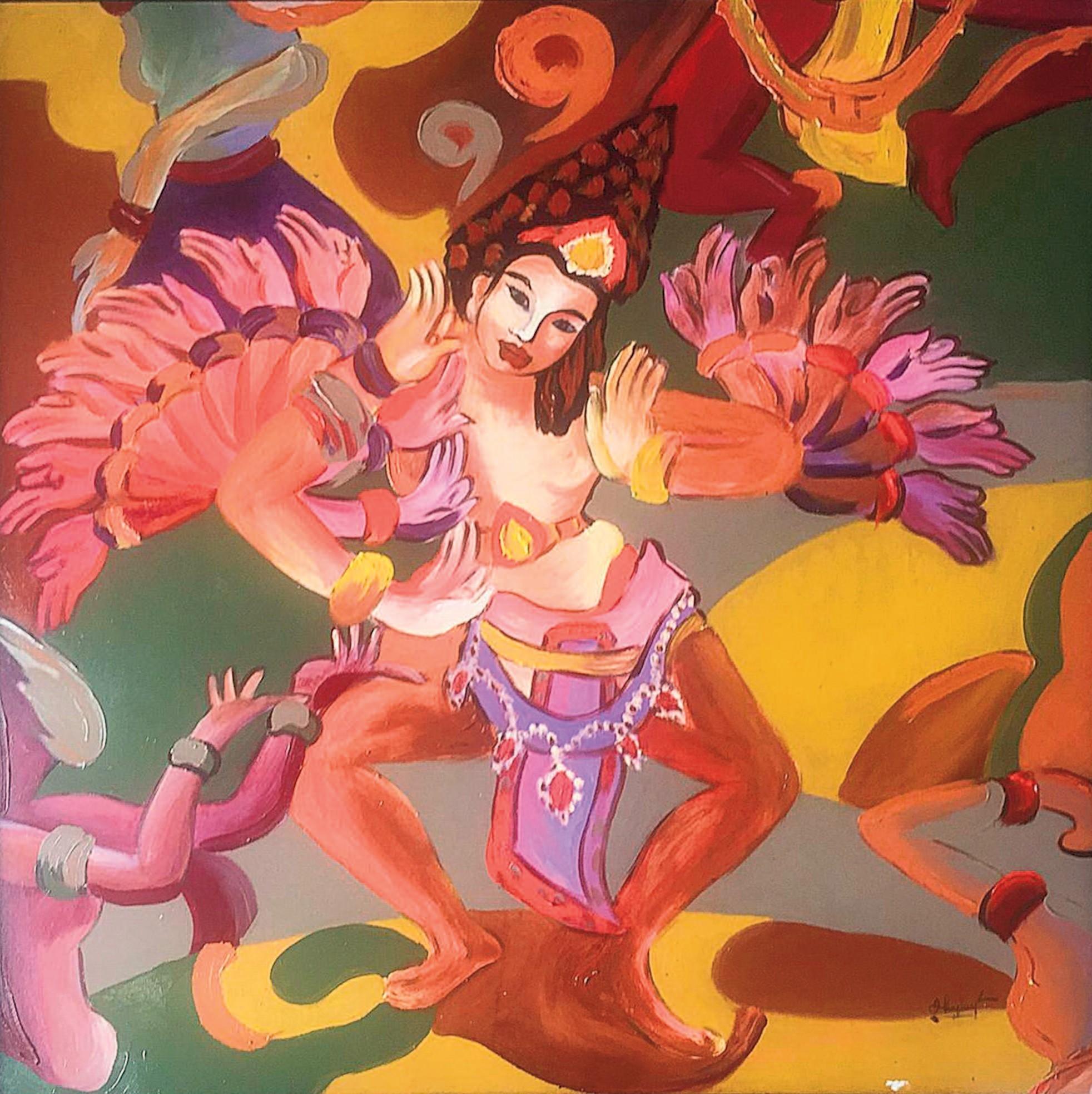 Tác phẩm Vũ điệu Chăm / Champa's dance