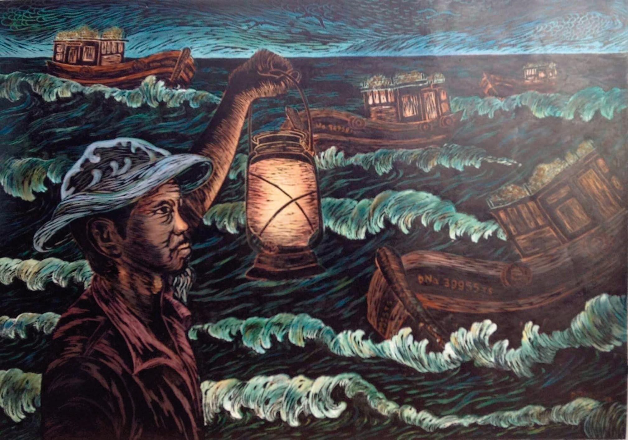 Tác phẩm Niềm tin của biển