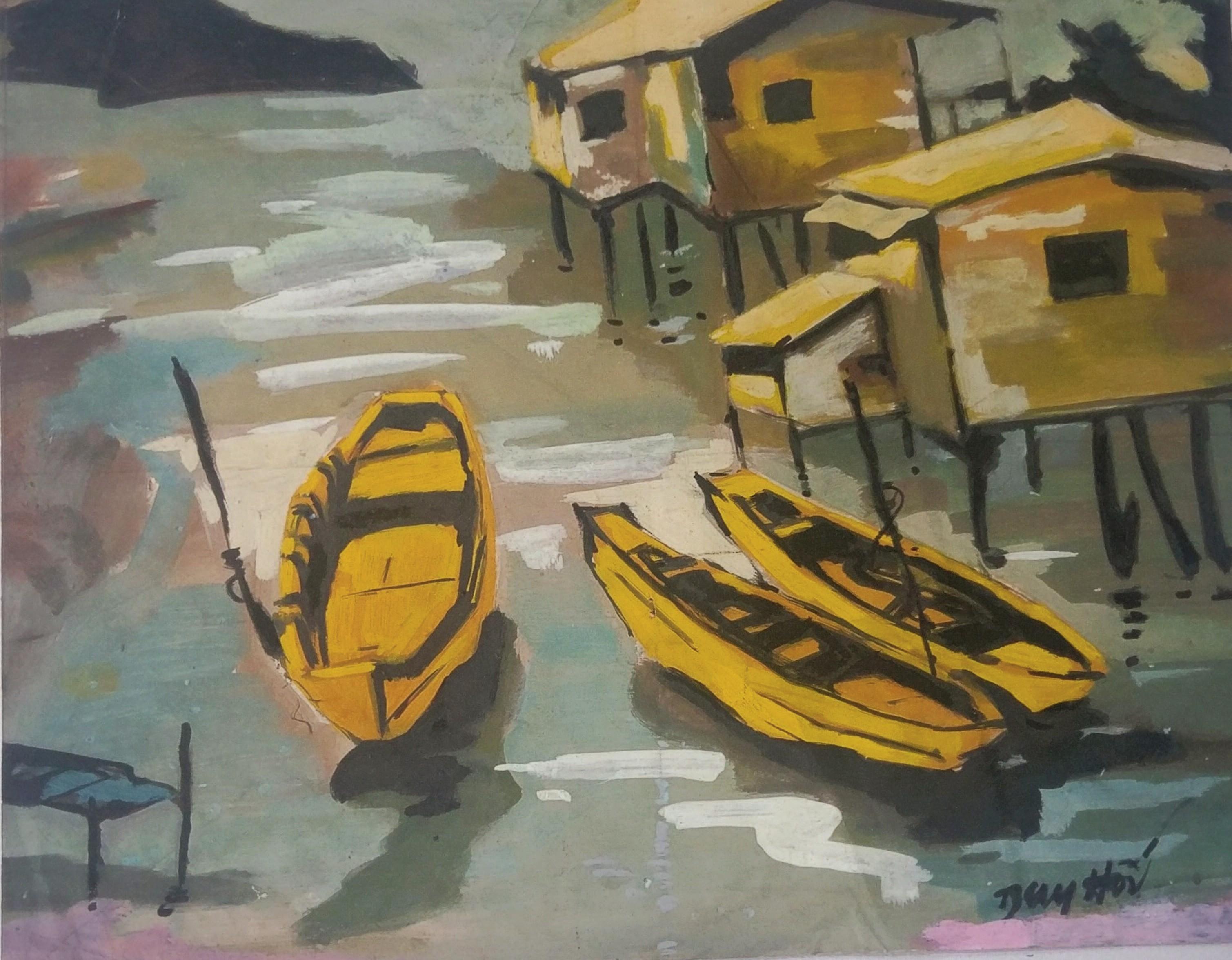 Tác phẩm Ký ức nhà chồ / Memory of houses the sea