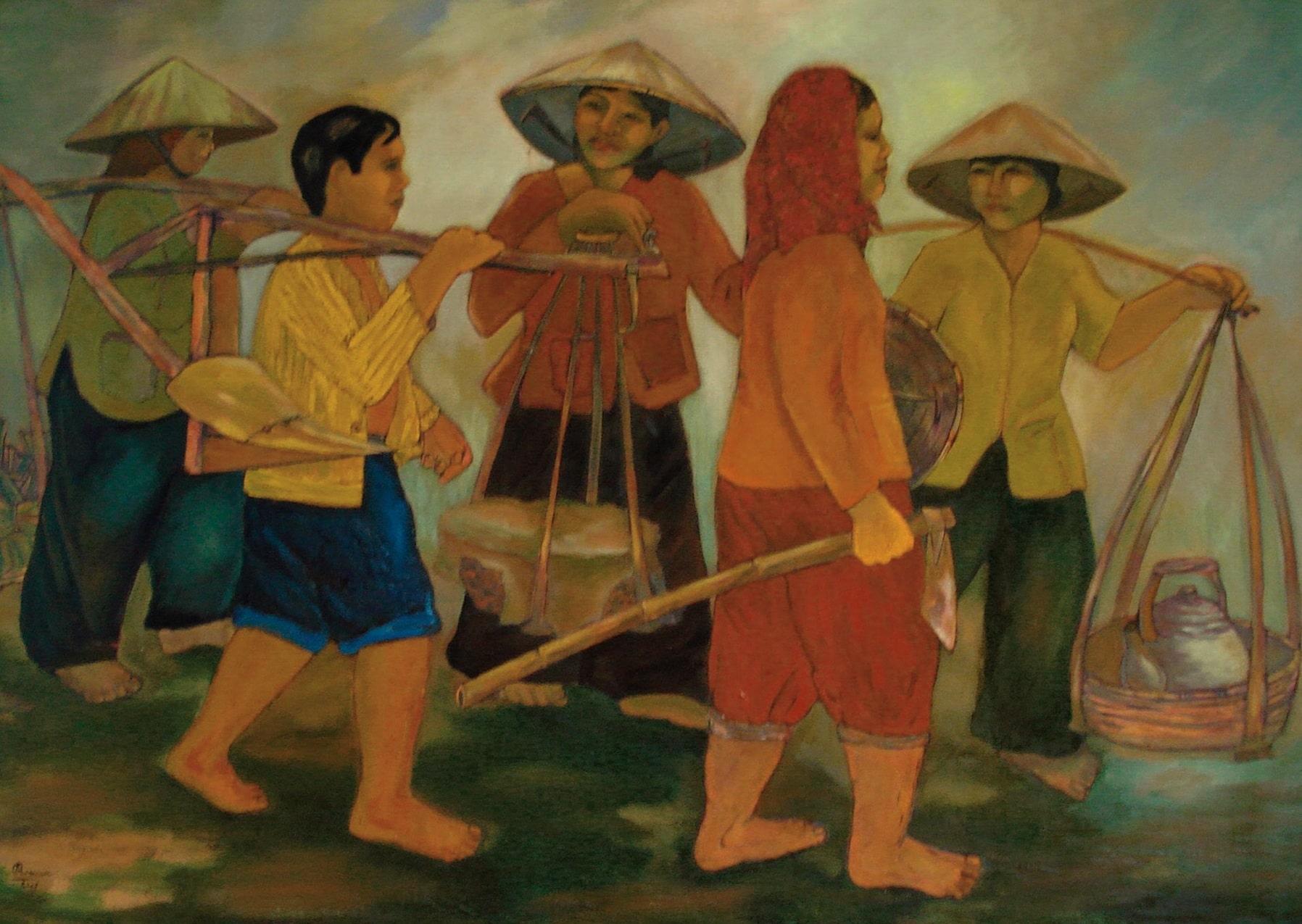 Phạm Ngọc Bình- Tác phẩm Ra đồng