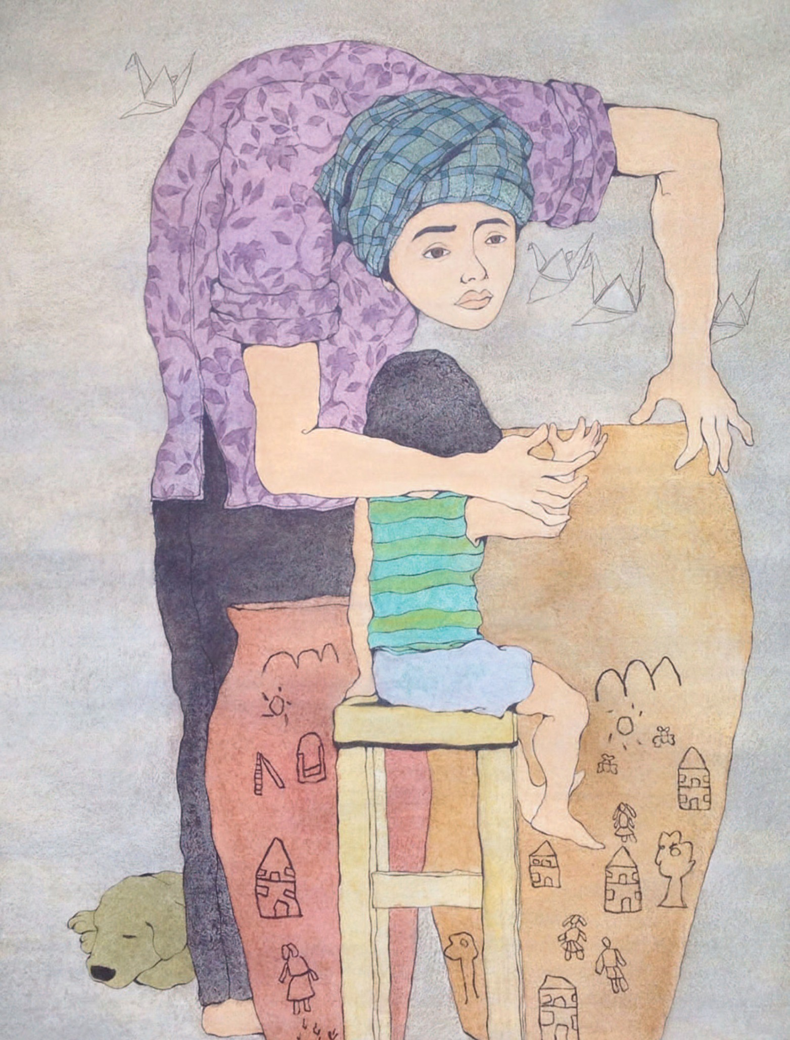 Nguyễn Văn Yên - Hạc giấy