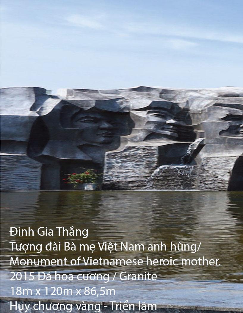 Tác phẩm Bà mẹ Việt Nam anh hùng