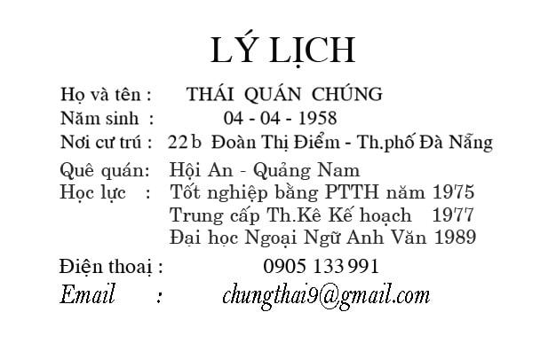 Tác giả Thái Quán Chúng