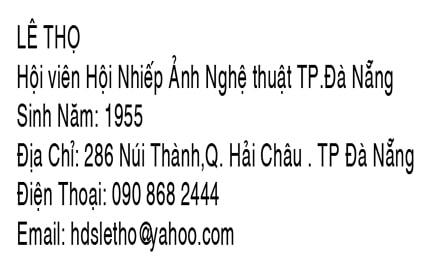 tác giả Lê Thọ