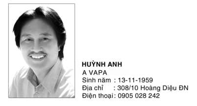 Tác giả Huỳnh Anh