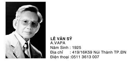 Tác giả Lê Văn Sỹ
