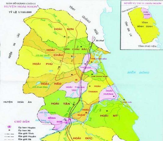 Giới thiệu khái quát huyện Hoài Nhơn