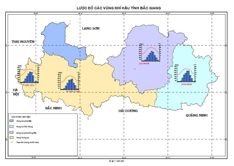 khí hậu nhiệt đới tỉnh Bắc Giang