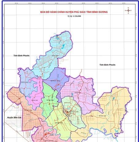 Giới thiệu khái quát huyện Phú Giáo - Tỉnh Bình Dương