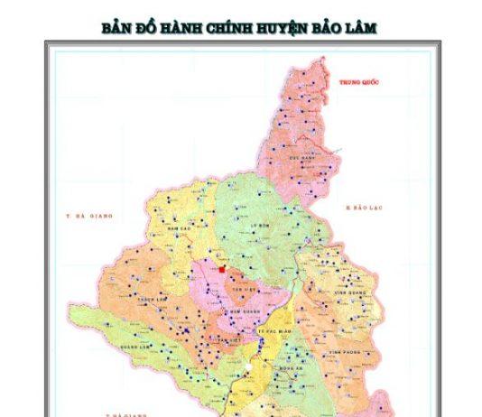 Giới thiệu khái quát huyện Bảo Lâm