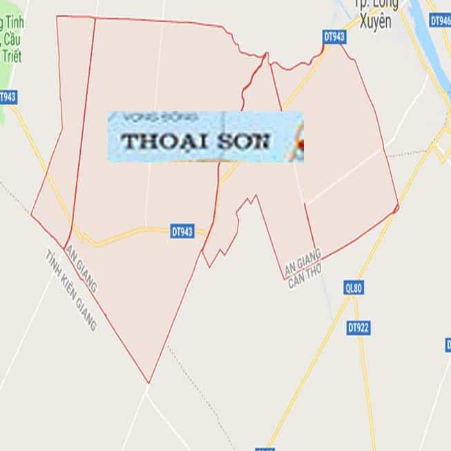 Giới thiệu khái quát huyện Thoại Sơn - Tỉnh An Giang