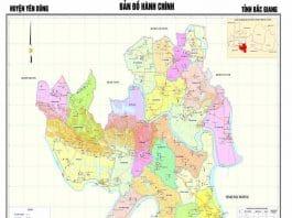 Giới thiệu khái quát huyện Yên Dũng