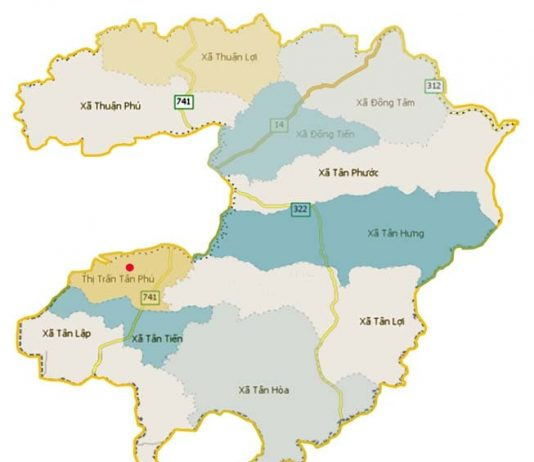 Giới thiệu khái quát huyện Đồng Phú