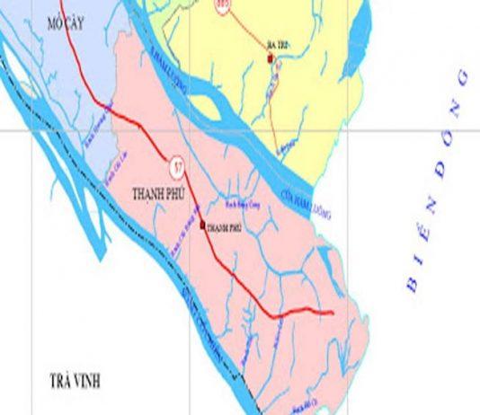 Giới thiệu khái quát huyện Thạnh Phú - Tỉnh Bến Tre - vansudia.net