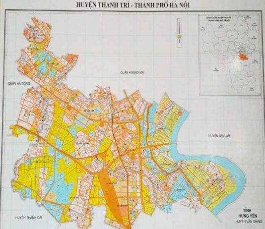 Giới thiệu khái quát huyện Thanh Trì