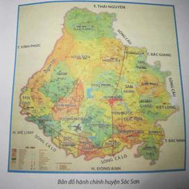 Giới thiệu khái quát huyện Sóc Sơn