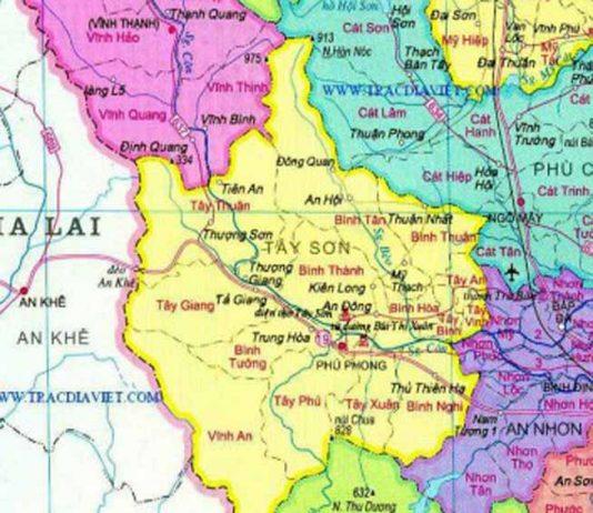 Giới thiệu khái quát huyện Tây Sơn