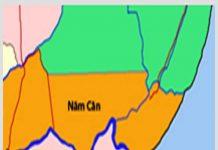 Giới thiệu khái quát huyện Năm Căn