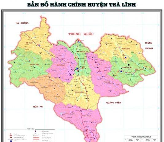 Giới thiệu khái quát huyện Trà Lĩnh
