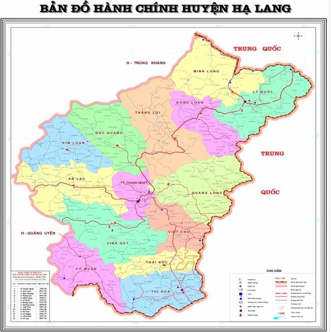 Giới thiệu khái quát huyện Hạ Lang