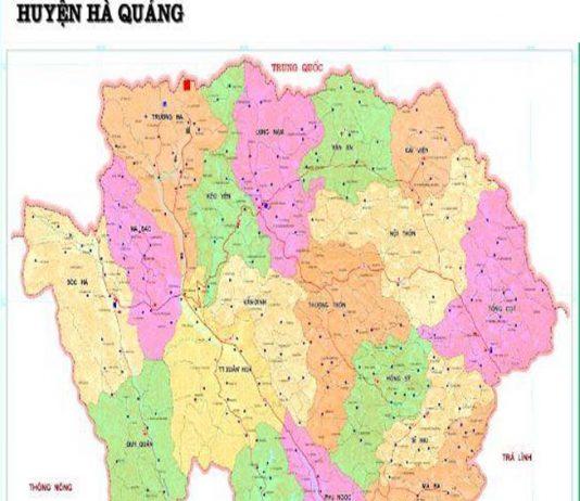 Giới thiệu khái quát huyện Hà Quảng