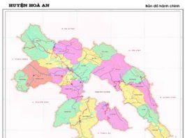 Giới thiệu khái quát huyện Hòa An