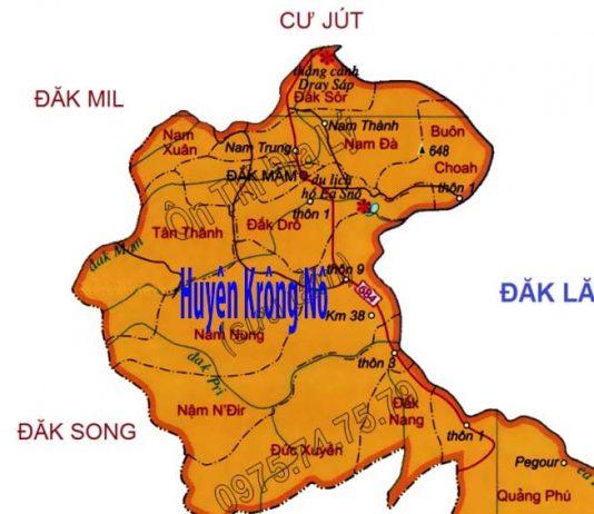 Giới thiệu khái quát huyện Krông Nô