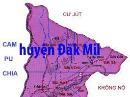 Giới thiệu khái quát huyện ĐắK Mil