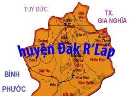 Giới thiệu khái quát huyện Đăk R'lấp - Tỉnh Đắk Nông - vansudia.net