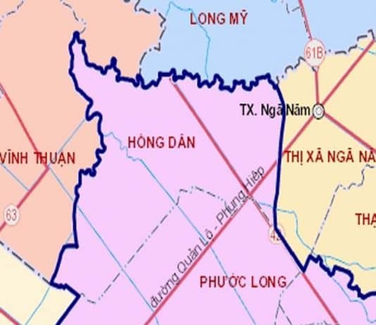 Giới thiệu khái quát huyện Hồng Dân
