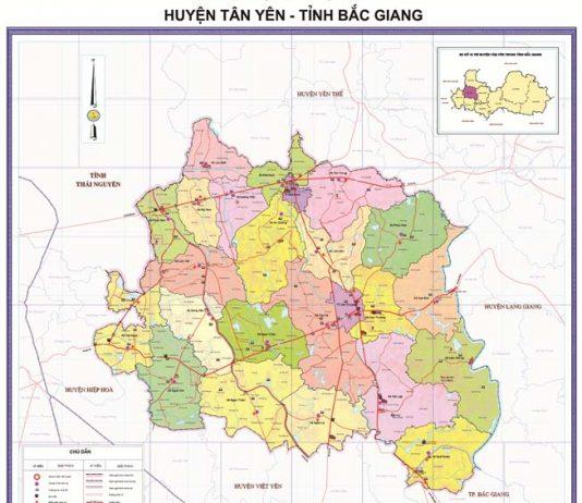 Giới thiệu khái quát huyện Tân Yên