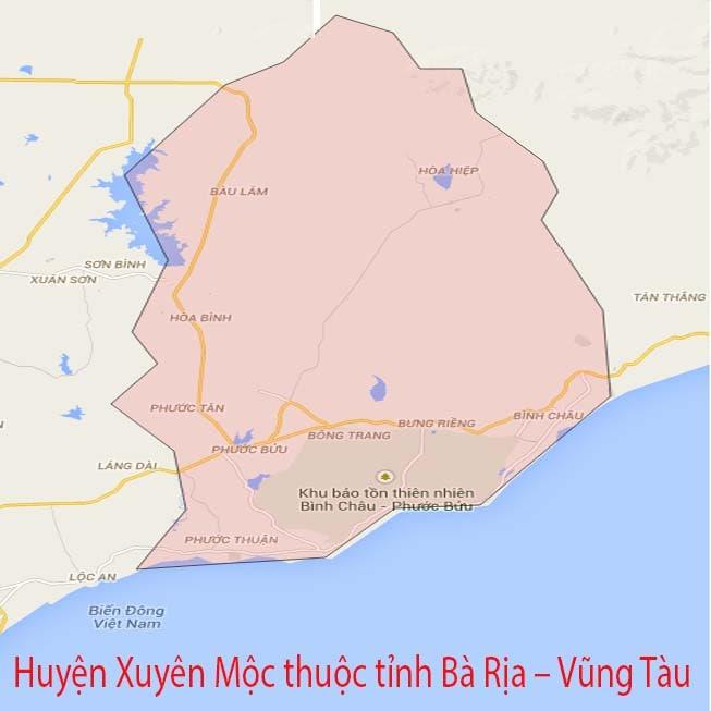 Giới thiệu khái quát huyện Xuyên Mộc