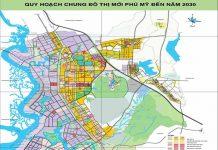 Giới thiệu khái quát thị xã Phú Mỹ - Tỉnh Bà Rịa Vũng Tàu - VSD