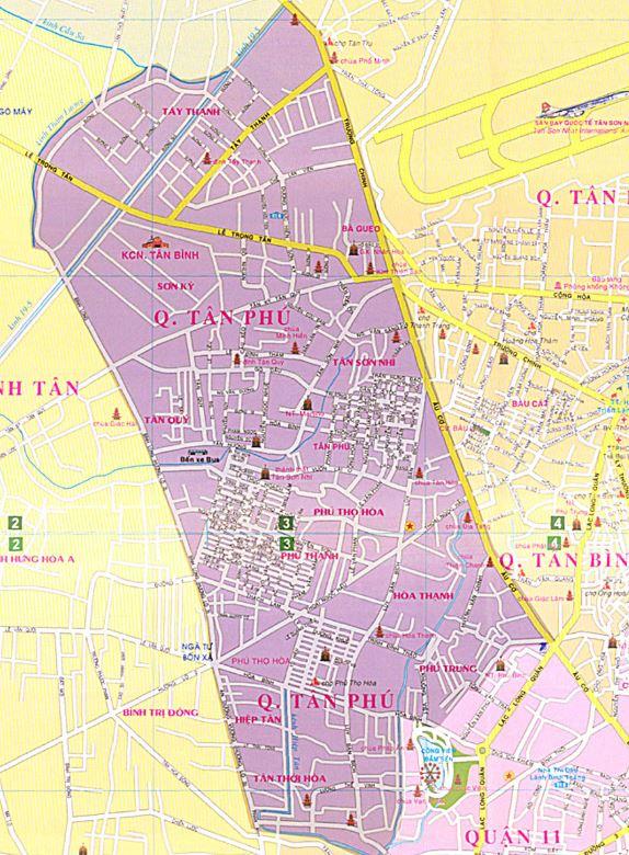 Giới thiệu khái quát quận Tân Phú