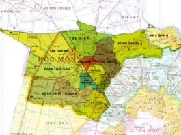 Giới thiệu khái quát huyện Hóc Môn