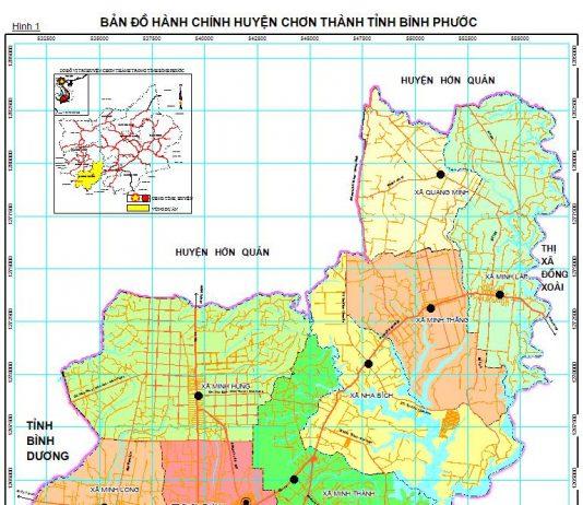 Giới thiệu khái quát huyện Chơn Thành