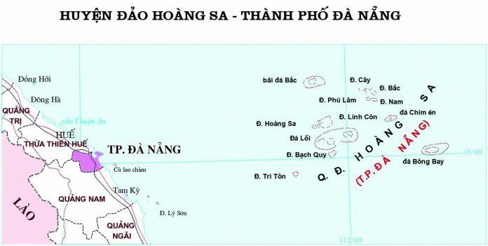 Giới thiệu khái quát huyện đảo Hoàng Sa