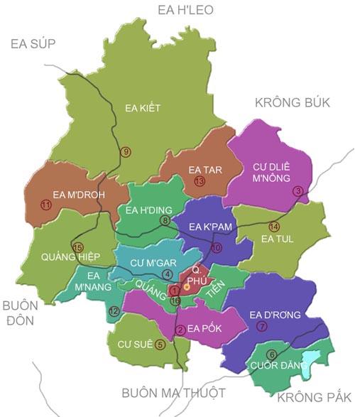 Giới thiệu khái quát huyện Cư M'gar - Tỉnh Đắk Lắk - vansudia.net