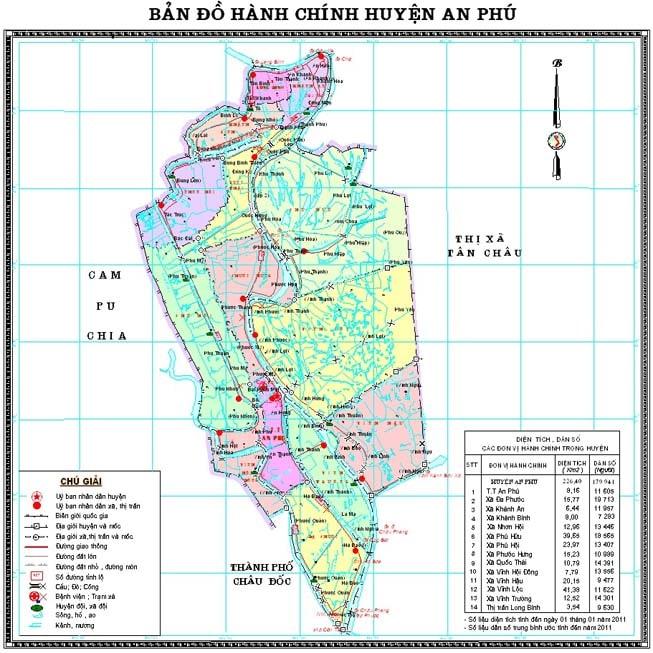 Giới thiệu khái quát huyện An Phú