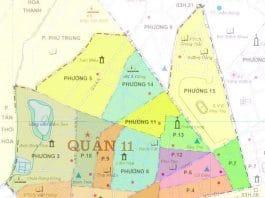 Giới thiệu khái quát quận 11