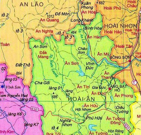 Giới thiệu khái quát huyện Hoài Ân