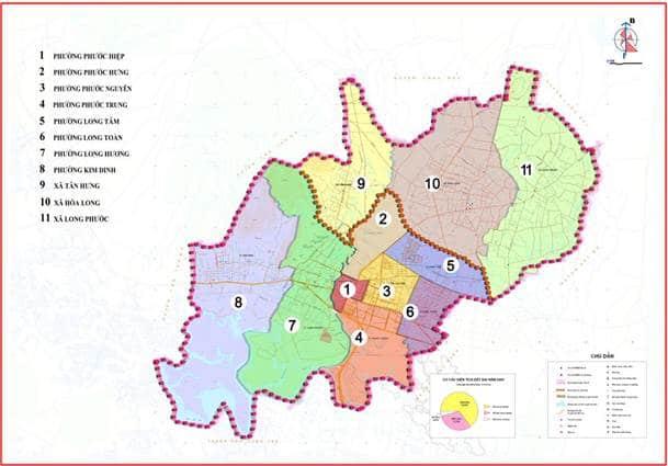 Giới thiệu khái quát thành phố Bà Rịa
