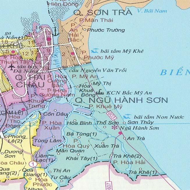Giới thiệu khái quát quận Ngũ Hành Sơn