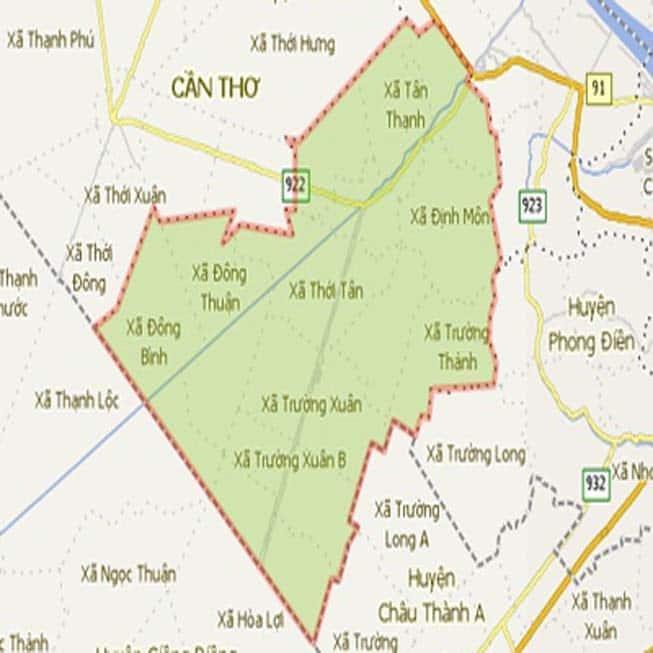 Giới thiệu khái quát huyện Thới Lai