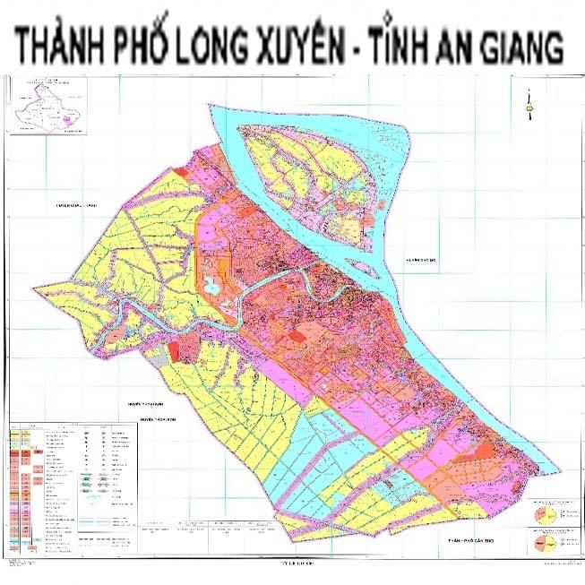 Giới thiệu khái quát thành phố Long Xuyên